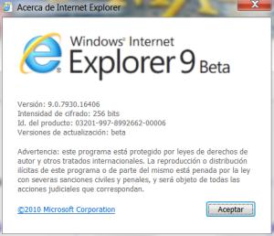 explorer 9 beta
